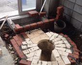 しらす窯製造過程1